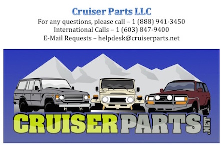 Cruiser Parts Contact Information