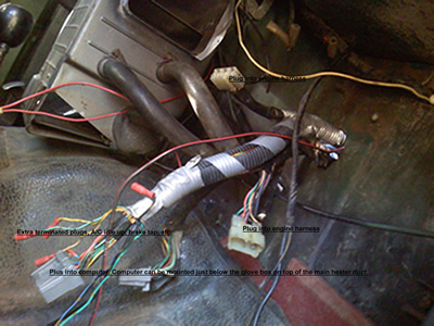 efi toyota landcruiser conversion kit custom wiring harness 1988 yellow plug style shown this allows you to install a donor fj62 engine into your land cruiser easily