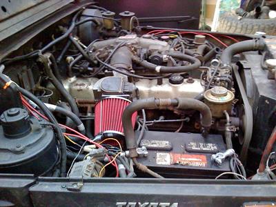 1958 1987 EFI Toyota Landcruiser Conversion Kit