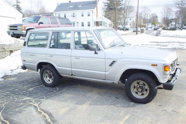 1985 Toyota Land Cruiser Fj60 Grey
