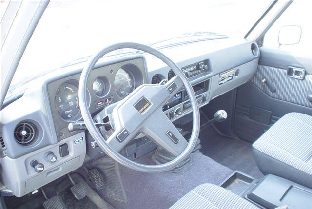 1985 Toyota Land Cruiser Fj60 Grey